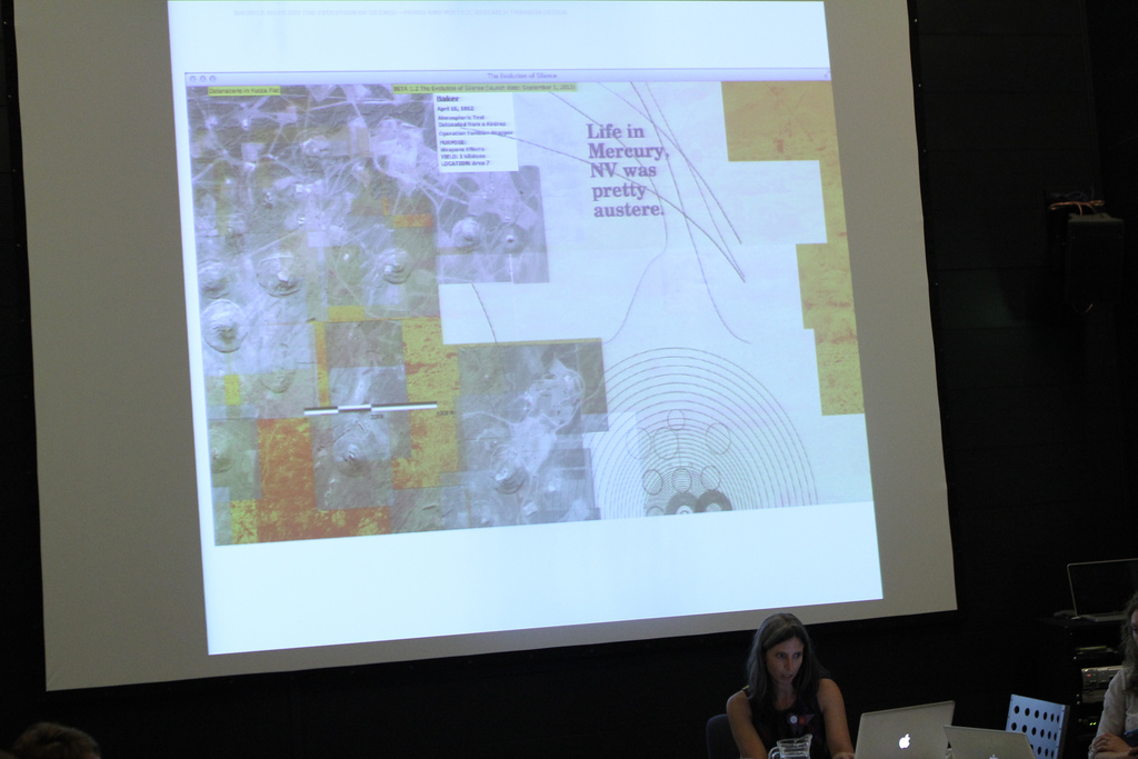 Presentation at 'Praxis and Poetics: Research Through Design,' September 4, 2013